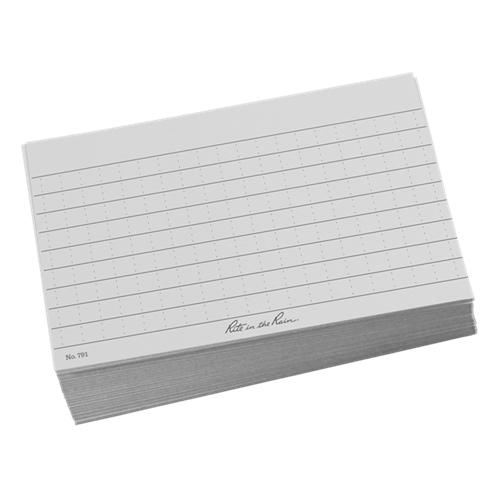 Riterain 5x3 Gy Index Cards