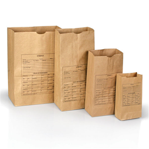 Printed Paper Evidence Bags Style 86