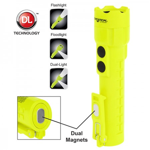 Intrinsically Safe Permissible Dual-light Flashlight - NS-XPP-5422GM