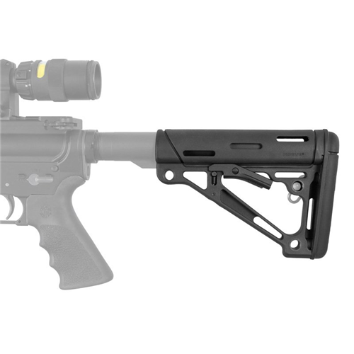 Ar-15/m-16 Overmolded Collapsible Buttstock - HOG-15040