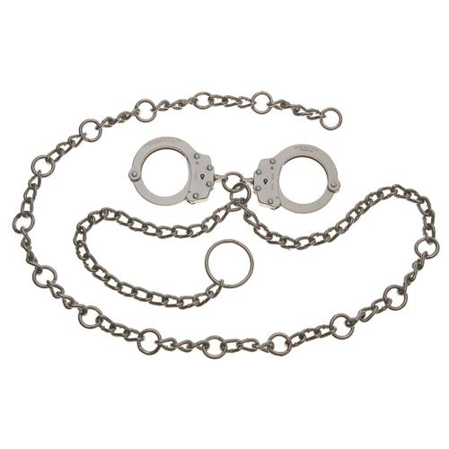 Model 7003c Waist Chain - Handcuffs At Navel