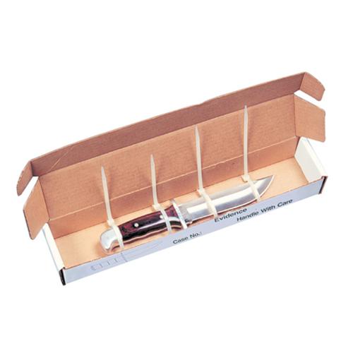 Knife Evidence Boxes 16'' X 3'' X 2'' (set Of 25)