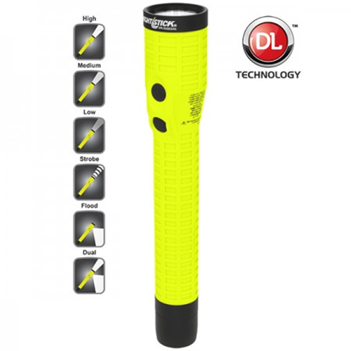 Intrinsically Safe Rechargeable Dual-light Flashlight W/magnet