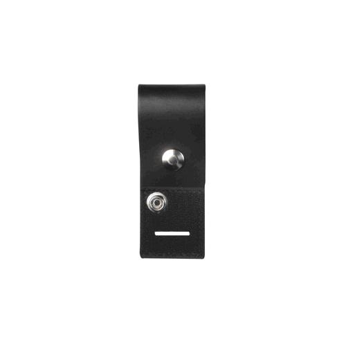 Epaulet Mic Holder 1 3/4 X 7 1/2, Snap, Slot, Hook And Loop