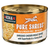 Koha Pure Shreds Shredded Chicken Breast Entree Dog Food, Case of 12