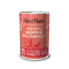 FirstMate Wild Pacific Salmon & Rice Formula 12.2 OZ., Case of 12