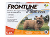 Frontline Plus Flea & Tick Protection For Dogs, 3 Count