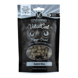 Vital Essentials Rabbit Bites Freeze Dried Cat Treats, .9 OZ.