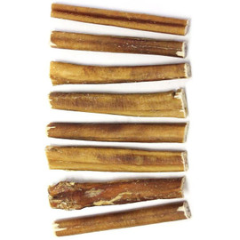 """The Natural Dog Company Beef Natural Odor Thick Bully Stick 6"""" Dog Chew"""