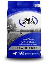 Nutrisource Grain Free Heartland Select Dog Food