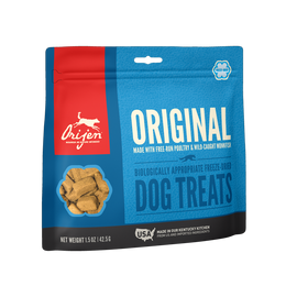 Orijen Original Freeze Dried Dog Treats, 1.5 OZ.