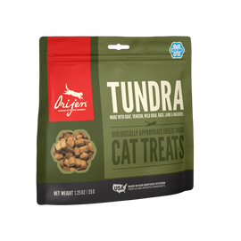 Orijen Tundra Freeze Dried Cat Treats, 1.25 OZ.
