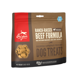 Orijen Ranch Raised Beef Freeze Dried Dog Treats, 1.5 OZ.
