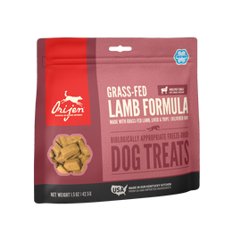 Orijen Grass Fed Lamb Freeze Dried Dog Treats, 1.5 OZ.