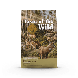 Taste Of The Wild Pine Forest Canine Recipe with Venison & Legumes Dog Food