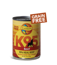 Earthborn K95 Beef Dog Food 13 OZ., Case of 12