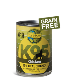 Earthborn K95 Chicken Dog Food 13 OZ., Case of 12