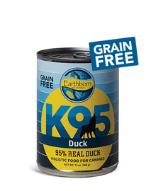 Earthborn K95 Duck Dog Food 13 OZ., Case of 12