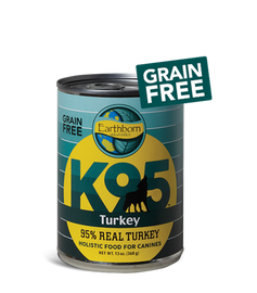 Earthborn K95 Turkey Dog Food 13 OZ., Case of 12