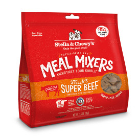 Stella & Chewy's Stella's Super Beef Meal Mixers Dog Food, 18 OZ.