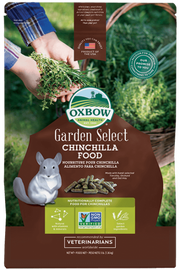 Oxbow Garden Select Chinchilla Food, 3 LB.