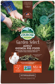 Oxbow Garden Select Adult Guinea Pig Food, 4 LB.