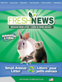 Fresh News Small Animal Litter, 10 Liter, 610 Cubic In.