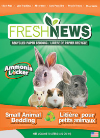 Fresh News Small Animal Bedding Litter, 10 Liter, 610 Cubic In.