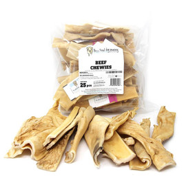 The Natural Dog Company Small Beef Chewies Dog Chew