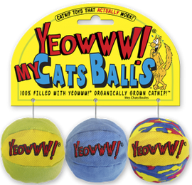 DuckyWorld Yeowww! My Cats Balls