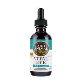 Earth Animal Vital Eye Organic Herbal Remedy Dog and Cat Supplement, 2 OZ.