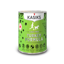 KASIKS Cage Free Turkey Formula 12.2 OZ., Case of 12