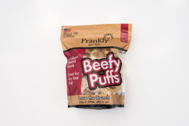 Frankly Beefy Puffs Venison Flavor Dog Treats