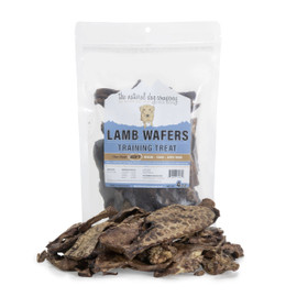 The Natural Dog Company Lamb Wafers Dog Treats, 4 OZ.