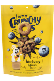 Fromm Crunchy O's Blueberry Blasts Dog Treat 6 OZ.