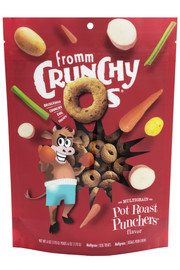 Fromm Crunchy O's Pot Roast Punchers Dog Treat 6 OZ.