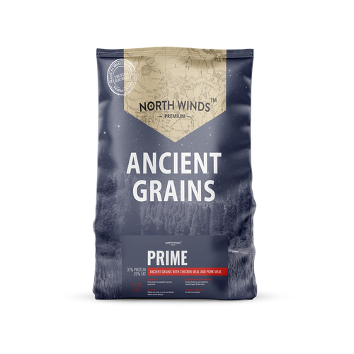 North Winds Premium Ancient Grains Prime with Chicken Meal & Pork Meal Dog Food
