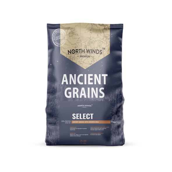 North Winds Premium Ancient Grains Select with Chicken Meal Dog Food