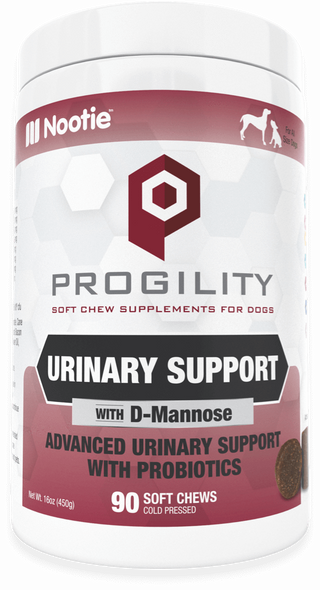 Nootie Progility Urinary Support Soft Chew Dog Supplement, 90 Soft Chews