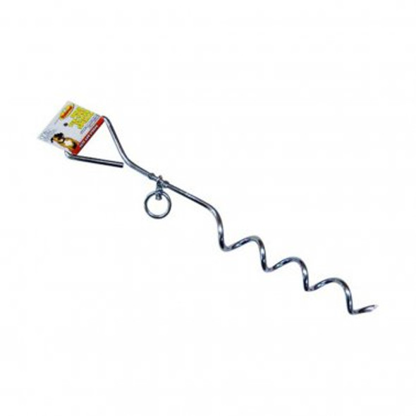 """Tie Out Stake Spiral, 18"""""""
