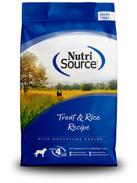 Nutrisource Trout & Rice Recipe Dog Food