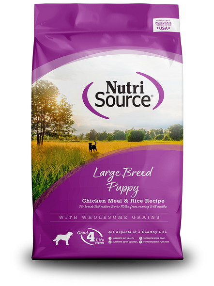 Nutrisource Large Breed Puppy Dog Food
