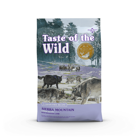 Taste Of The Wild Sierra Mountain Canine Recipe with Roasted Lamb Dog Food