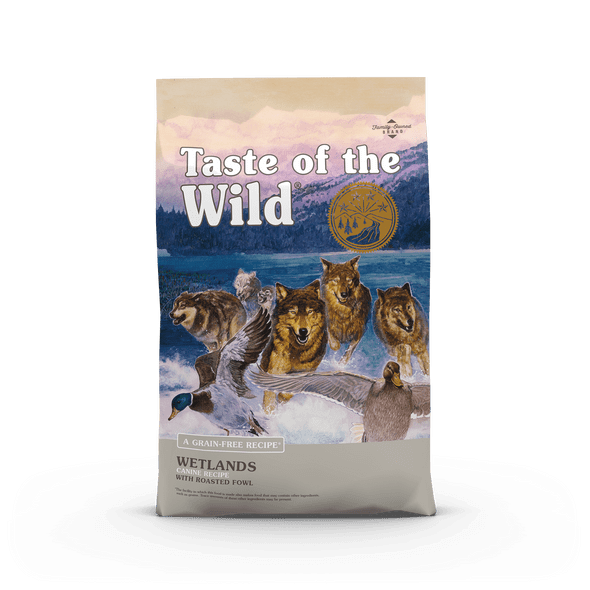 Taste Of The Wild Wetlands Canine Recipe with Roasted Fowl Dog Food