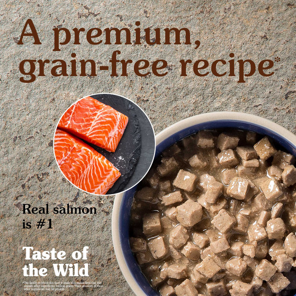 Taste Of The Wild Canyon River Feline Formula with Trout and Salmon in Gravy Cat Food 3 OZ.,  Case of 24