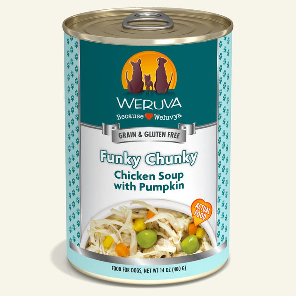 Weruva Classic Funky Chunky Chicken Soup with Pumpkin Dog Food