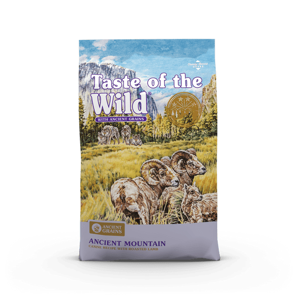 Taste Of The Wild Ancient Mountain Canine Recipe with Roasted Lamb Dog Food