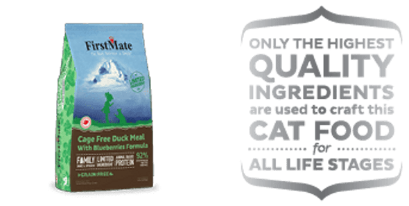 FirstMate Duck Meal With Blueberries Formula, Cat Food