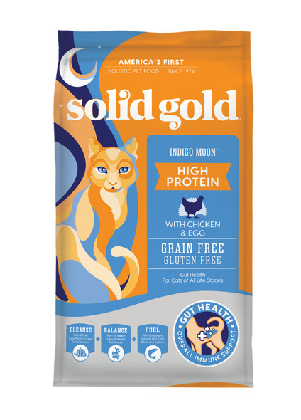 Solid Gold Indigo Moon With Chicken & Eggs Cat Food