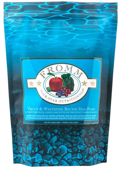 Fromm Four Star Trout & Whitefish Recipe Dog Food